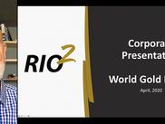 Alex Black's presentation at the World Gold Forum on April 20, 2020.