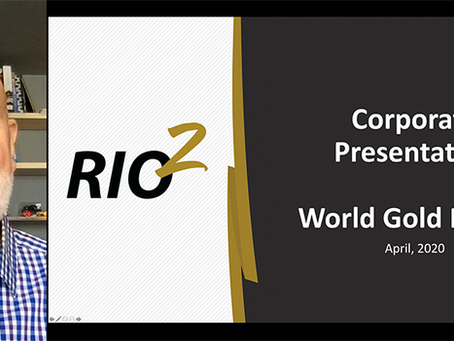 Alex Black's presentation at the World Gold Forum on April 20, 2020.