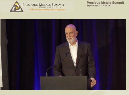 Presentación de Rio2 en el Precious Metals Summit Conference en Beaver Creek