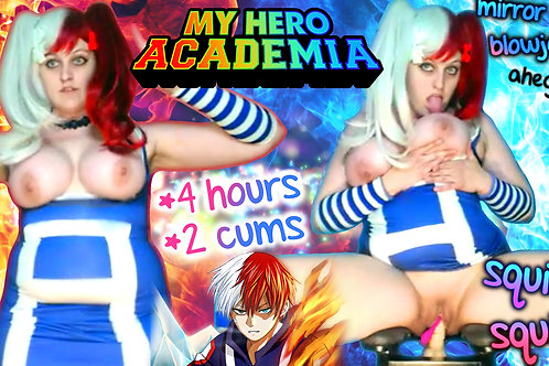 My Hero Academia 2 CUMS Creamy Icy Hot!!
