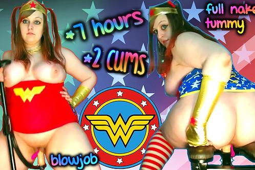 Wonder Woman 2 CUMS 7 Hrs Heroine BJ DP!