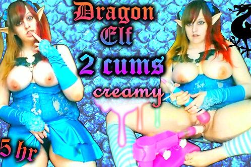 Elf Dragon 2 CUMS 3 HRS Fuck Machine MAX Spd