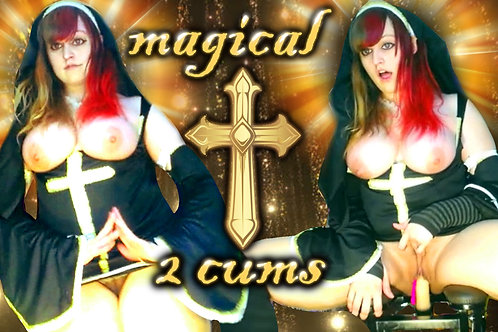 Magical Nun Priest 2 CUMS virgin BlowJob
