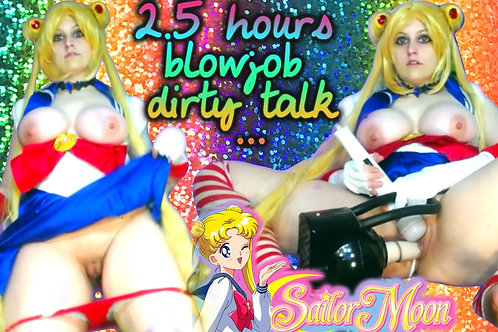 Sailormoon 2.5 Hour Creamy Ass Frnt Blowjob