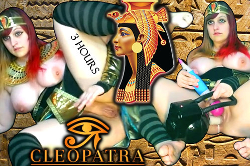 Virgin Cleopatra CREAMY Dirty Talk MAX SPEED!