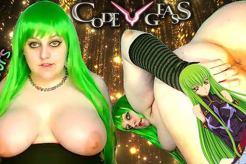 C.C. ~ Code Geass 3 HOURS Anal Wink Cum!
