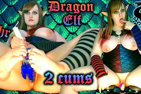 Elf Dragon Long Edge Foot Fuck Sex Chair!