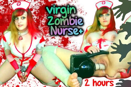 Zombie Nurse 2 Hour Creamy Fuck Machine!