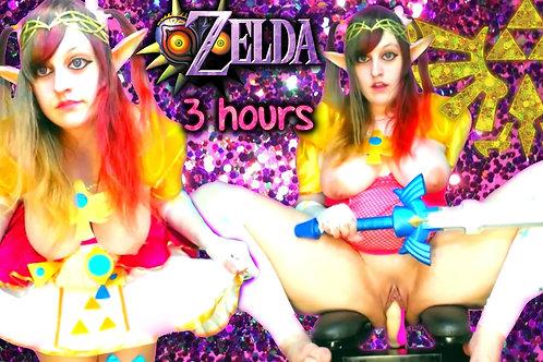 Princess Zelda 3 Hrs Cock Chair BJ Sing!