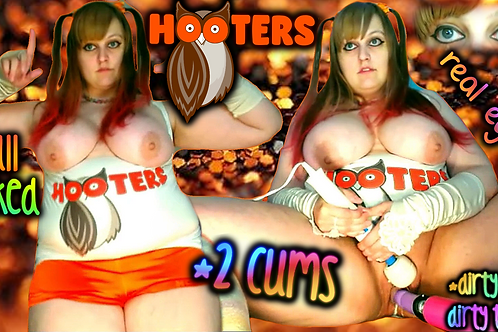 HOOTERS GiRL 2 CUMS ROLE PLAY DiRTY TALK!