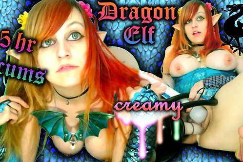 Virgin Dragon Elf 3 CUMS Creamy 2.5 Hours!