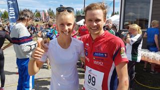 Toppidrettsparet Olaussen og Steiwer til topps under O-festivalen