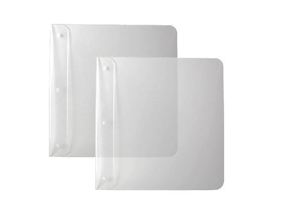 Unsichtbare Plattencover Aufhängung Set von 2