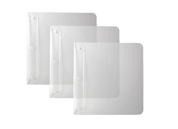 Unsichtbare Plattencover Aufhängung Set von 3