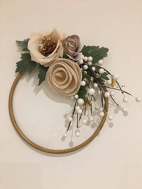 CHRISTMAS WREATH RING - 30cm