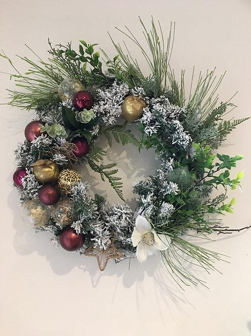 CHRISTMAS WREATH - 50cm