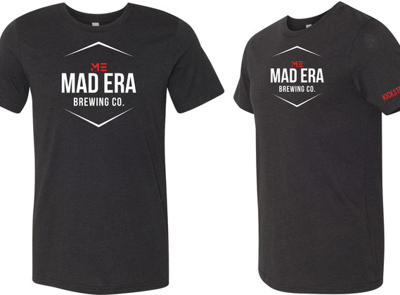 Mad Era Kickstarter Tee Blk Charcoal.JPE