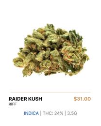 RIFF | Raider Kush 3.5g