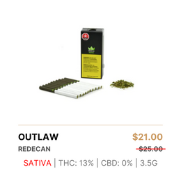 Redecan Outlaw Pre-Rolls