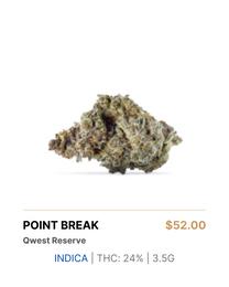 Qwest Reserve Point Break