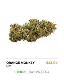 liiv | Orange Monkey 3.5g