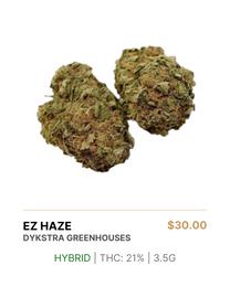DYKSTRA GREENHOUSES | EZ HAZE 3.5g