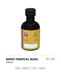 Verse | Rapid Tropical Rush