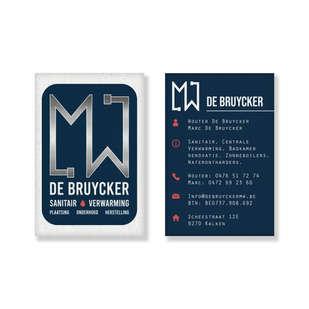 De Bruycker MW visitekaartje