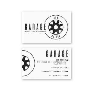 Visitekaartje garage Baeten