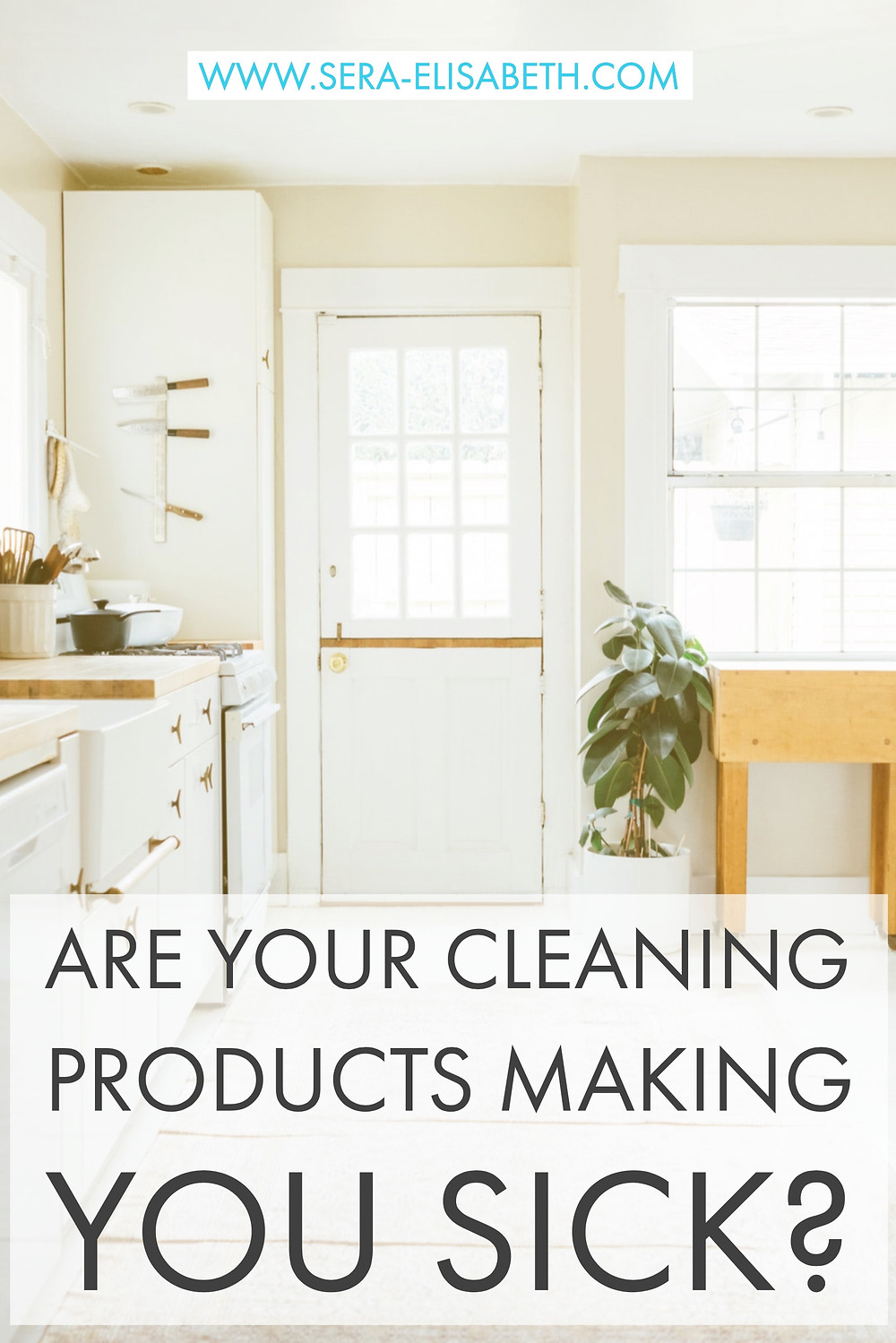 toxic cleaning products pinterest graphic