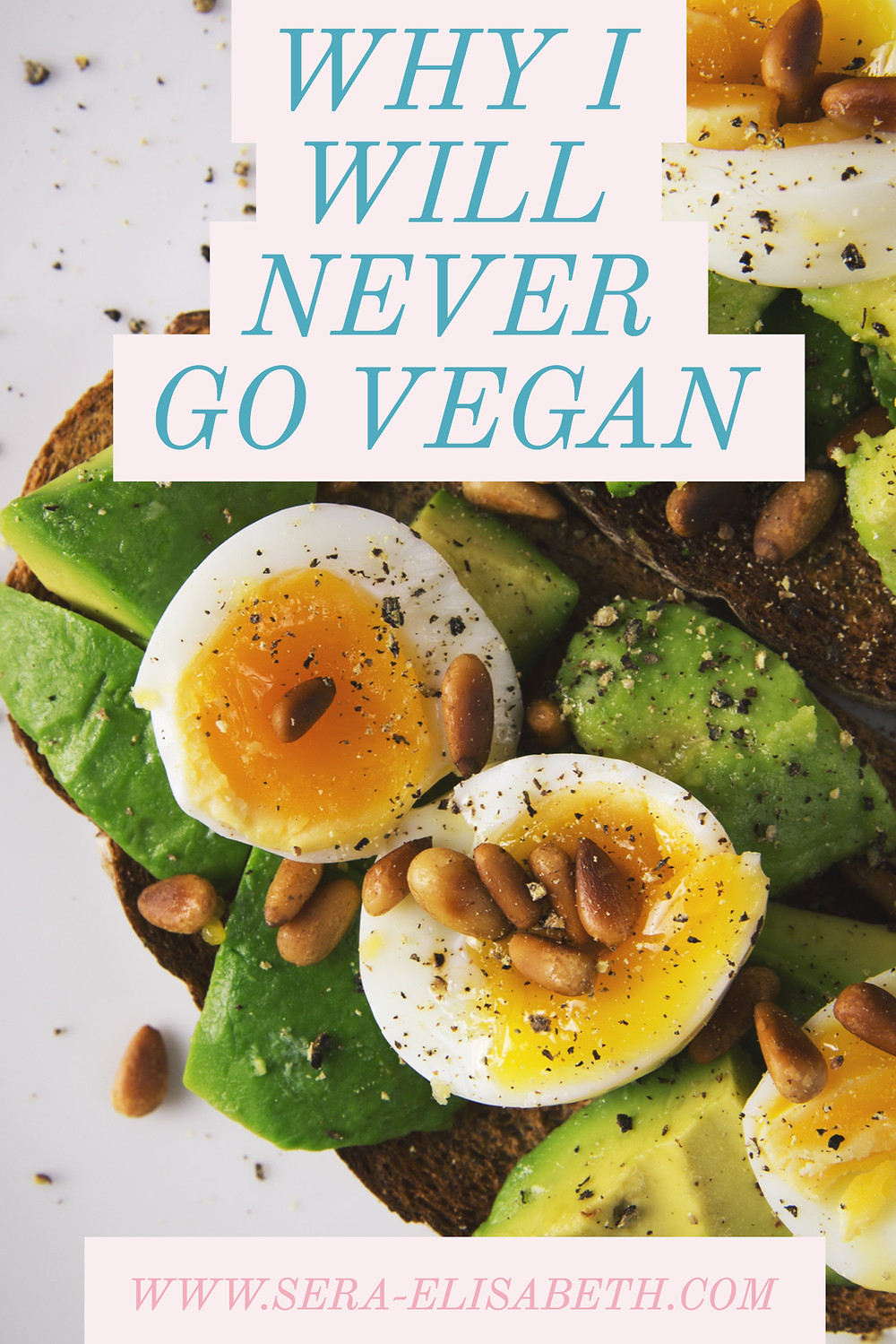 WHY I WILL NEVER GO VEGAN GRAPHIC