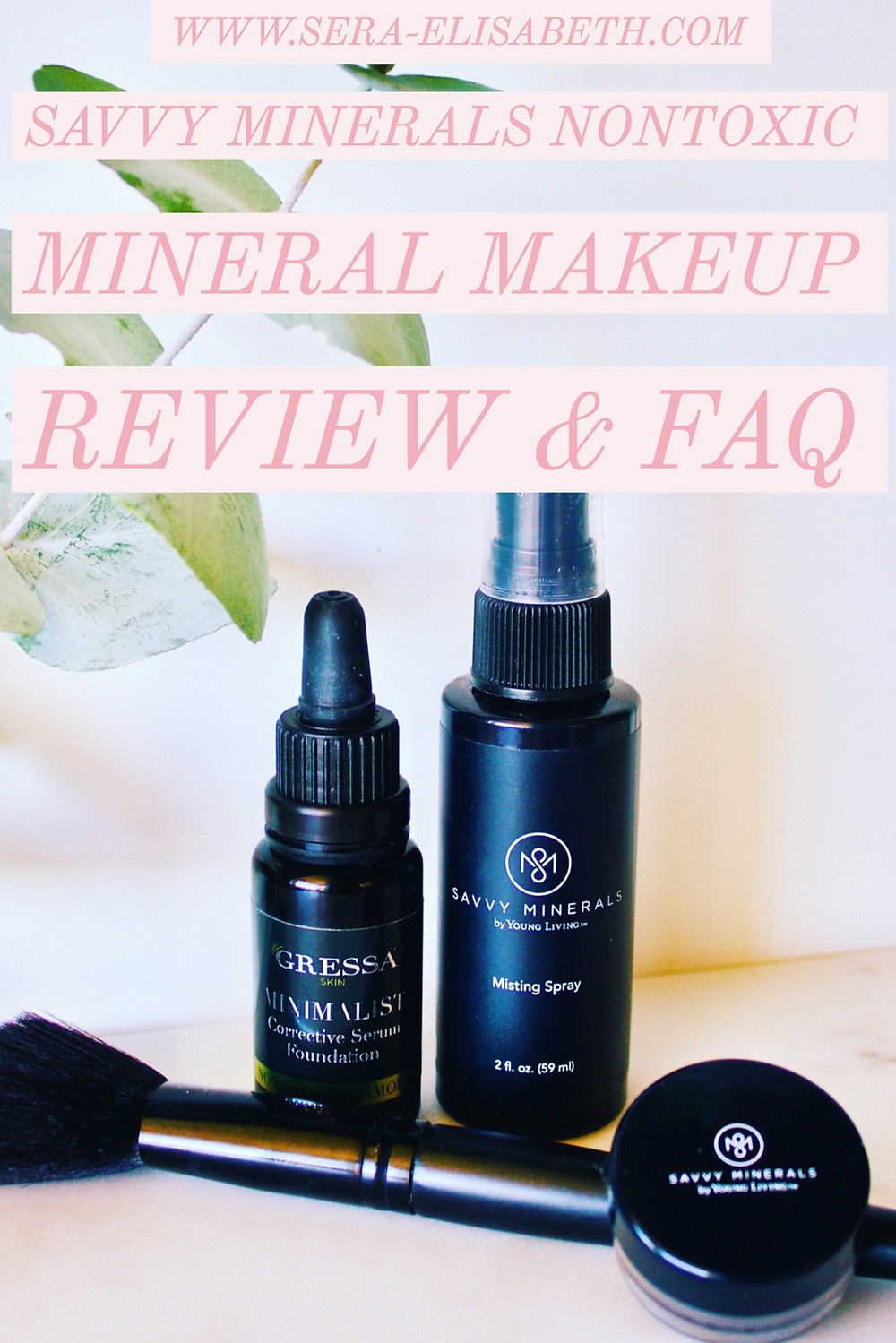Savvy Minerals Makeup Starter Kit Blog Post