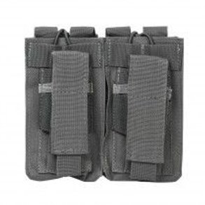 VISM® by NcSTAR® AR DOUBLE MAG POUCH/URBAN GRAY