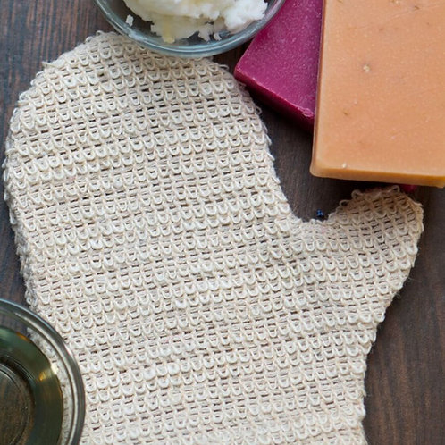 Sisal Exfoliating Bath Mitt
