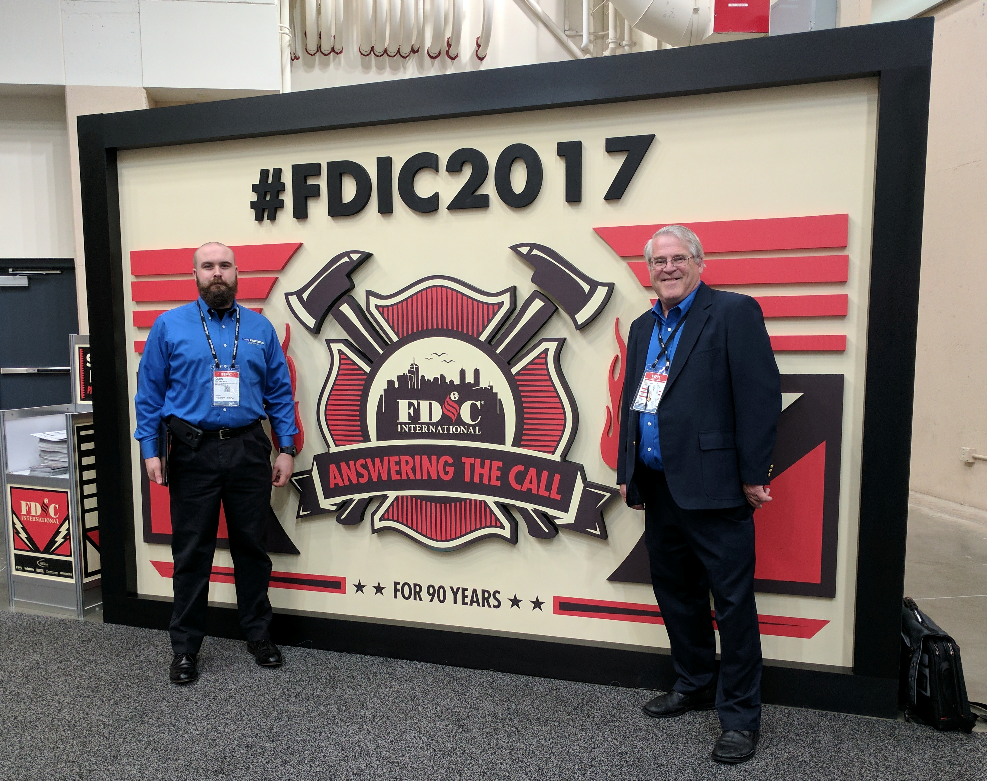 Quin and Bill FDIC 2017 Verity Rear Vision Systems