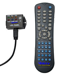 Truck DVR remote and control panel Verit
