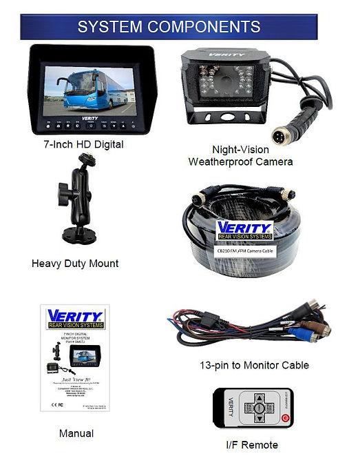 SM07J Verity Rear Vision system componen