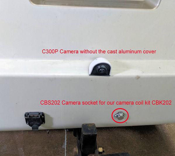 C300P  Verity Camera on Rear Class C Mot