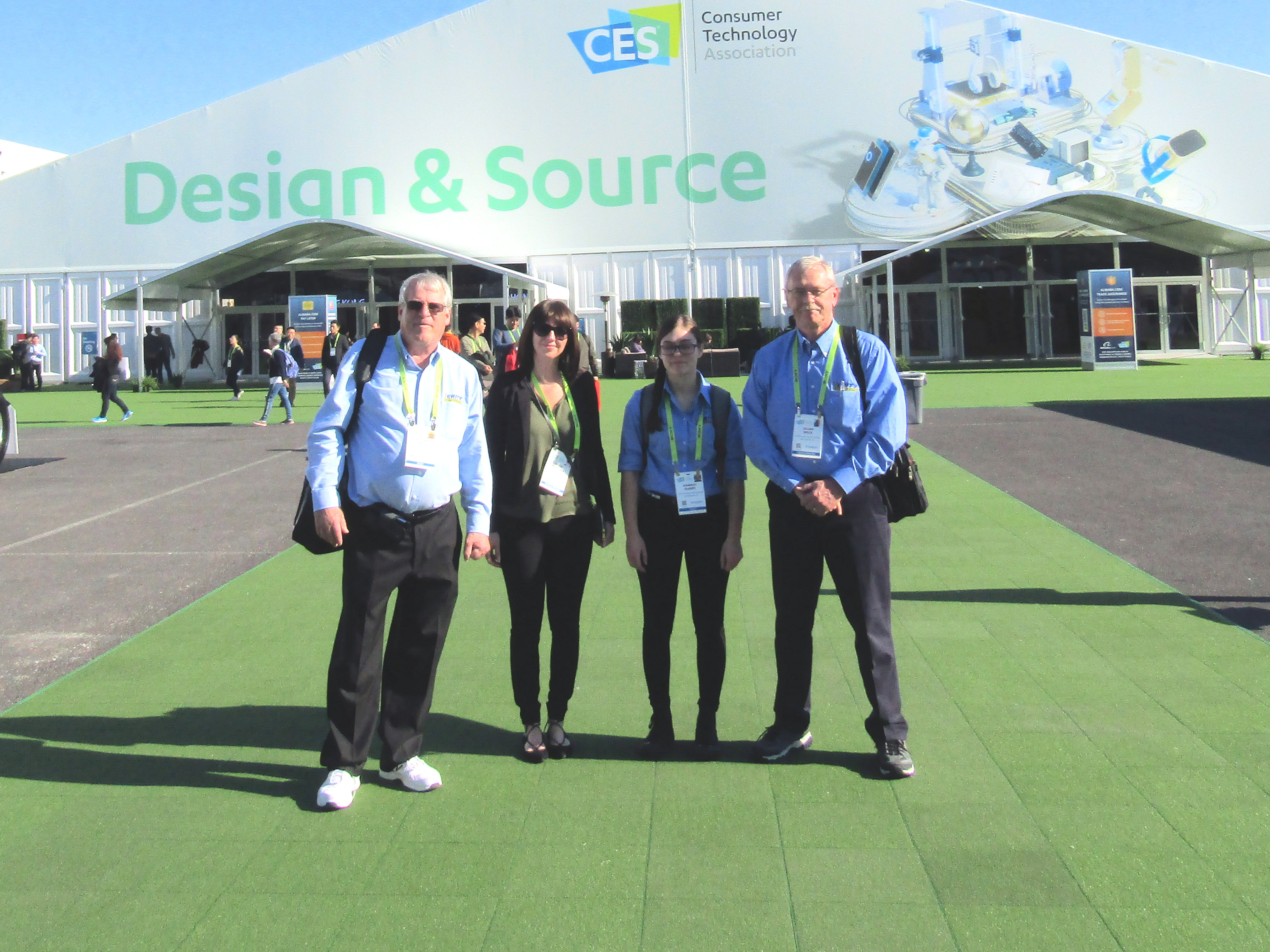 The Verity team at 2019 CES in Las Vegas