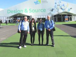 The Verity team at 2019 CES in Las Vegas