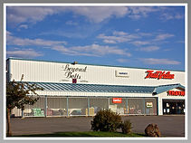 Beyond Bolts – Fabric • Quilting • Crafts is located inside Thayne Hardware.