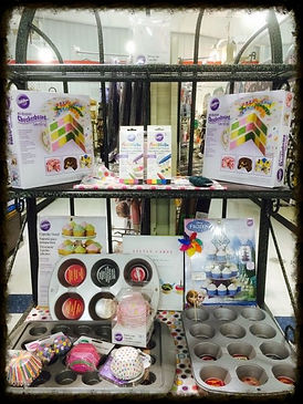 Get supplied at Beyond Bolts for cake or cupcake decorating!