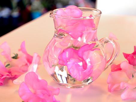 春のお花スイートピー
