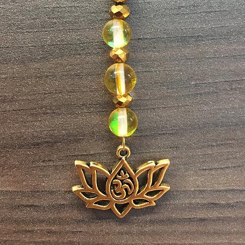 Hanger Lotus - geel