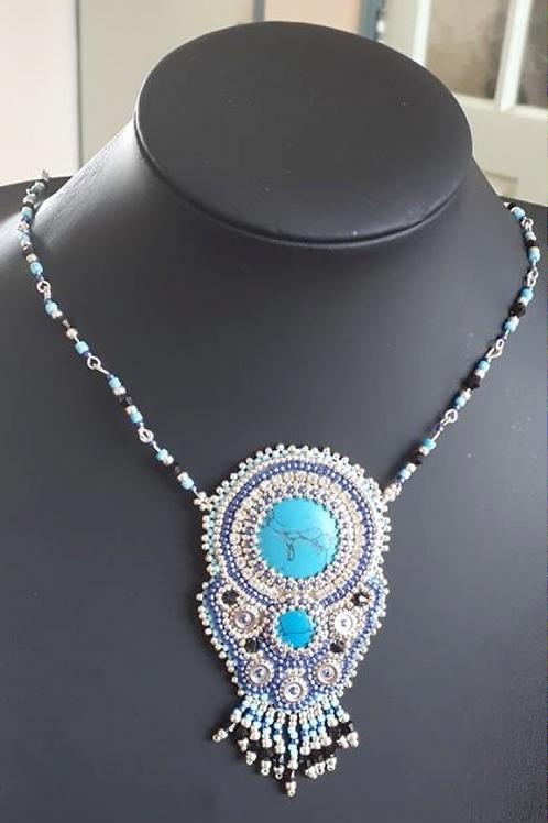 Turkeniet - turquoise