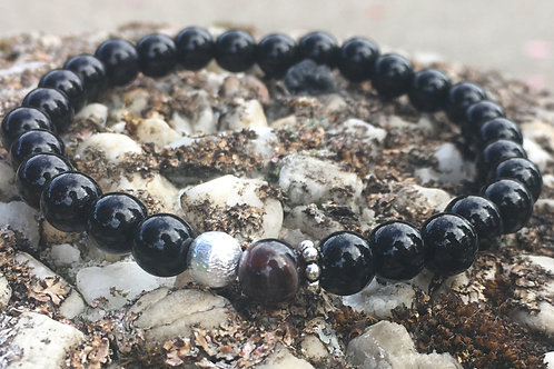 Armband Onyx - agaat