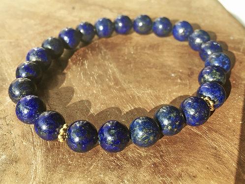Armband Lapis Lazuli L