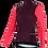 Thumbnail: Santini CORAL - THERMAL JERSEY GRANATINA for women - Kerékpáros Női termo felső