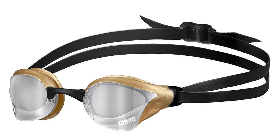 Arena cobra swipe mirror ezüst / arany verseny úszószemüveg