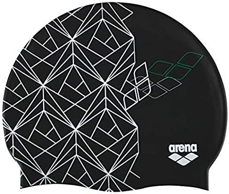 Arena print 2 Escher/Black úszósapka
